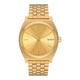 Nixon - All Gold Stainless Steel Time Teller Watch - steel   gold - Gold/Gold