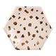 Meri Meri - Pack of 8 Large Blush Pink Terrazzo Plates - large | blush pink - Blush pink
