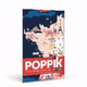 Poppik - 1600 Map Of France Stickers Giant Poster