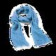 ZUZUNAGA - Bitmap Long Life Blue Scarf