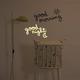 Chispum - Good Morning Good Night Printed Wall Mural Sticker