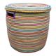 Alresford Linen - Large Flat Top Laundry Basket Multicoloured - Large