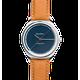 Routine - Original watch blue dial Camel bracelet - 40MM / bleu
