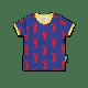Toby Tiger - Organic Lobster Print T-Shirt - 6-12M