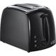 Russell Hobbs 21641 Textures 2 Slice Toaster - Black