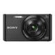 SONY DSC-W830 Digitalkamera schwarz 20,1 Mio. Pixel