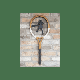 &Quirky - Vintage Tennis Racquet Wall Decoration
