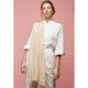 Moismont - Khadi Sarong Design 498 Scarf - Unique | cotton | pink orange - Pink orange