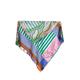 Mapoesie - Green & Pink Botany Scarf - cotton | green - Green/Green