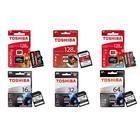Toshiba Memory Card: 128GB Exceria M302 MicroSD