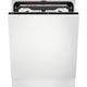 AEG Vollintegrierter-Geschirrspüler 60 cm WLAN-fähig MaxiFlex Plus Besteckschublade QuickSelect Display FSK93848P