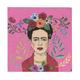 Talking Tables - Frida Kahlo Boho Napkins - Red/Pink/Green