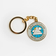 The School of Life - The School Of Life Emotionally Intelligent Keyring - Gold/White/Green