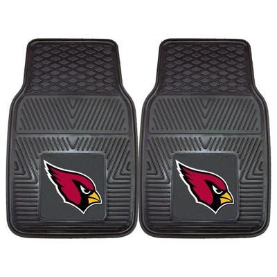 FANMATS NFL Arizona Cardinals Vinyl Heavy Duty Car Mat