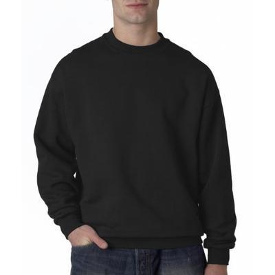 JERZEES SUPER SWEATS - Crewneck Sweatshirt. 4662M - XXX-Large - Black