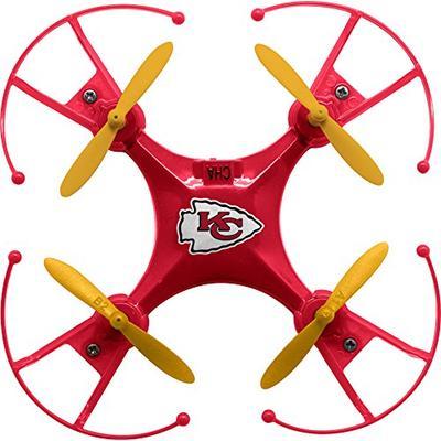 DGL Chiefs NFL Micro 3.7V Remote Control 360 Degree Rechargable Quadcopter Drone