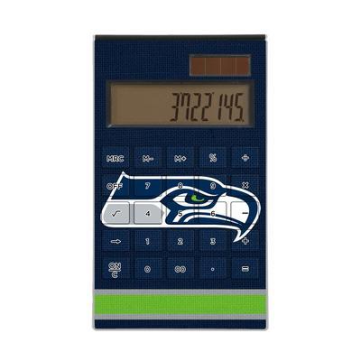 Seattle Seahawks Stripe Design Desktop Calculator