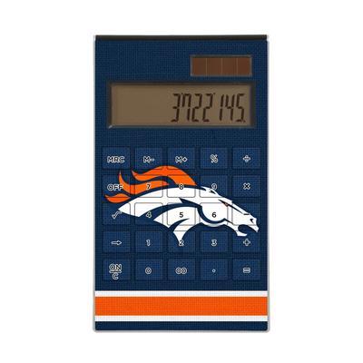 Denver Broncos Stripe Design Desktop Calculator