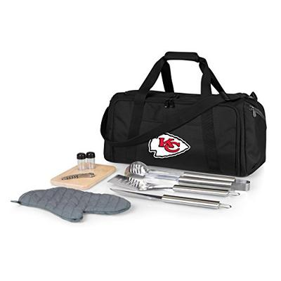 NFL Kansas City Chiefs BBQ Kit/Cooler Tote with Barbecue and Picnic Accessories