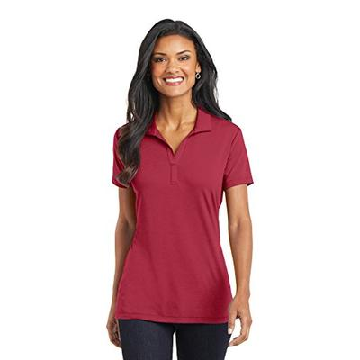 Port Authority L568 Women's Cotton Touch Performance Polo Chili Red XL