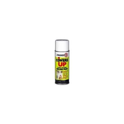 Zinsser Covers Up Ceiling Paint & Primer In One Spray, White 13 Oz. Can - Lot of 6
