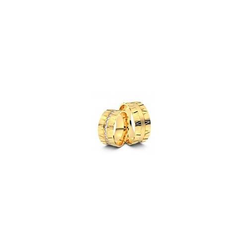 Trauringe Eisenach 585er Gelbgold - 5412
