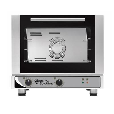 Global Solutions GS1105-17 Single Half Size Electric Convection Oven - 1.7 kW, 120v/1ph