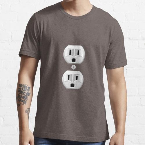 Steckdose Essential T-Shirt