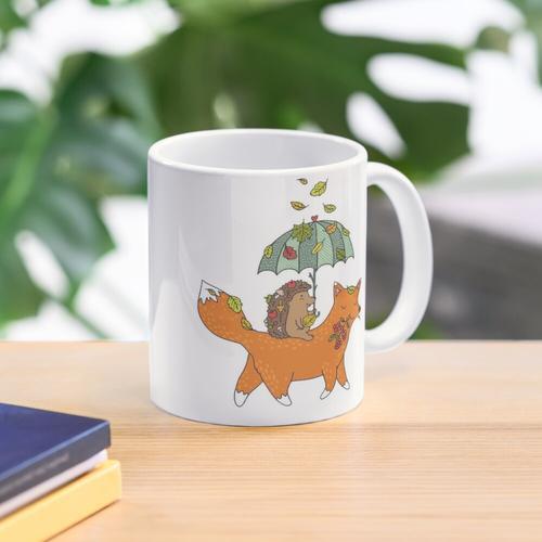 Igel und Fuchs Tasse