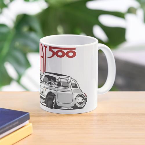 Fiat 500 personalisiert für Olivia Tasse