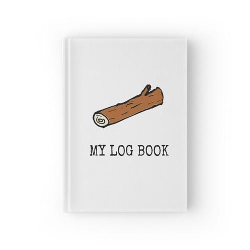 Mein Logbuch Notizbuch