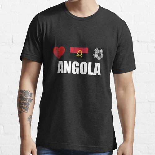 Angola Fußballtrikot - Angola Fußballtrikot Essential T-Shirt