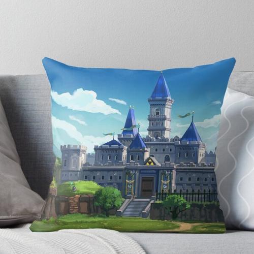 In die Burg schleichen Kissen