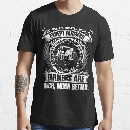 dummer Bauer Vogel Bauer Mutter Ferkel Bauer Bauer Welle Bauer Kinder fa Essential T-Shirt