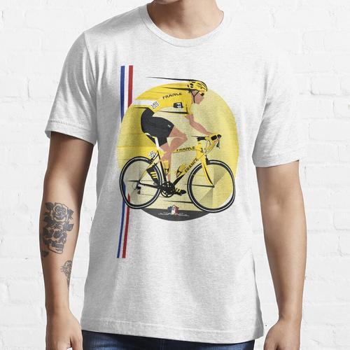 Frankreich Gelbes Trikot Essential T-Shirt