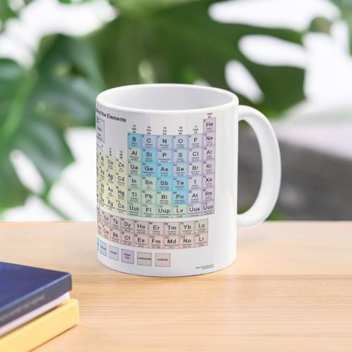 Periodensystem Tasse
