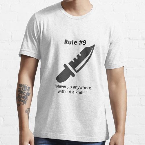 Gibbs Regel # 9 (Immer ein Messer tragen) Essential T-Shirt