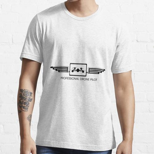 Professionelle Drohne Pilot Essential T-Shirt