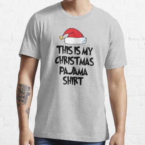 Familienpyjamas - Dies ist mein Weihnachtspyjama-Shirt Lustige passende Familien-P Essential T-Shirt