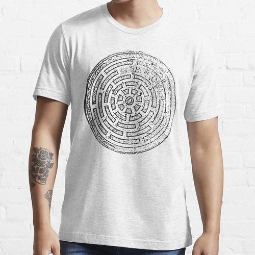 Caracas Manhole Transferdruck Essential T-Shirt