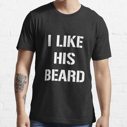 Ich mag sein Barthemd, passende Hemden Essential T-Shirt