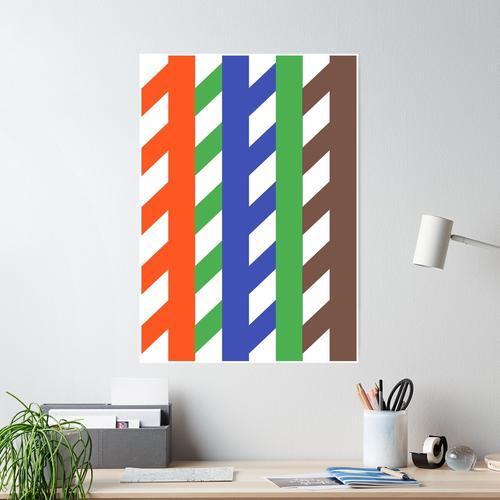 Ethernet-Kabel-Layout Poster