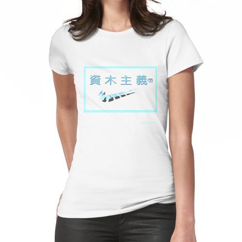 Wasserdampfwelle Frauen T-Shirt