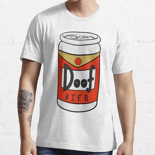 Doof Bier - Dumb Beer in German, Duff Essential T-Shirt