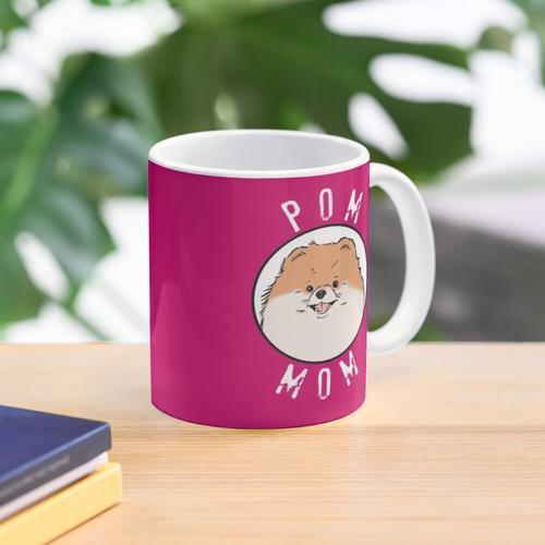 Pom Mom, Pomeranian Mom, Pomeranian Liebhaber Tasse