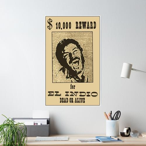 El Indio Poster