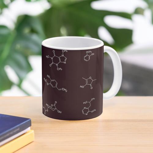 Kaffee-Chemie Tasse