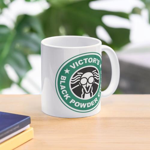 Victors Schwarzpulver Kaffee Tasse