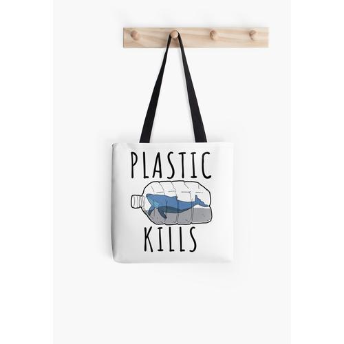 Kunststoff-Kills - Rette die Wale Tasche
