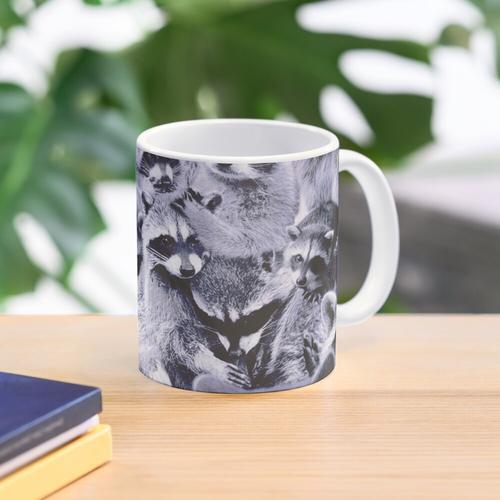 Waschbären Tasse